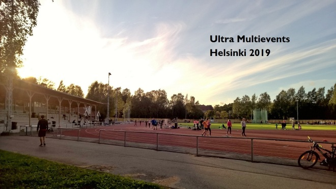 Ultra Multievents / icosathlon in Helsinki 2019
